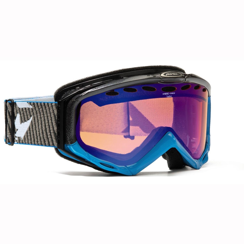 Alpina-Turbo-HM-Skibrille-mit-Hybrid-Mirror-S3-Schutzstufe