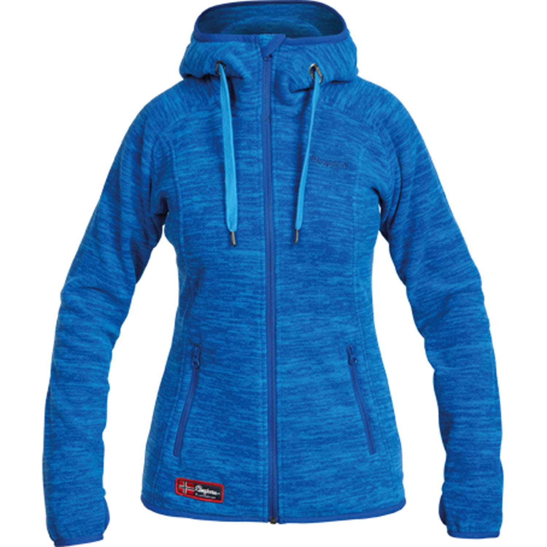 bergans hareid lady jacket fleece hoodie f r damen ebay. Black Bedroom Furniture Sets. Home Design Ideas