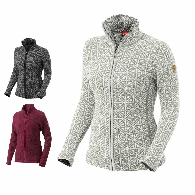 fj llr ven frost sweater damen fleecepullover strickjacke. Black Bedroom Furniture Sets. Home Design Ideas